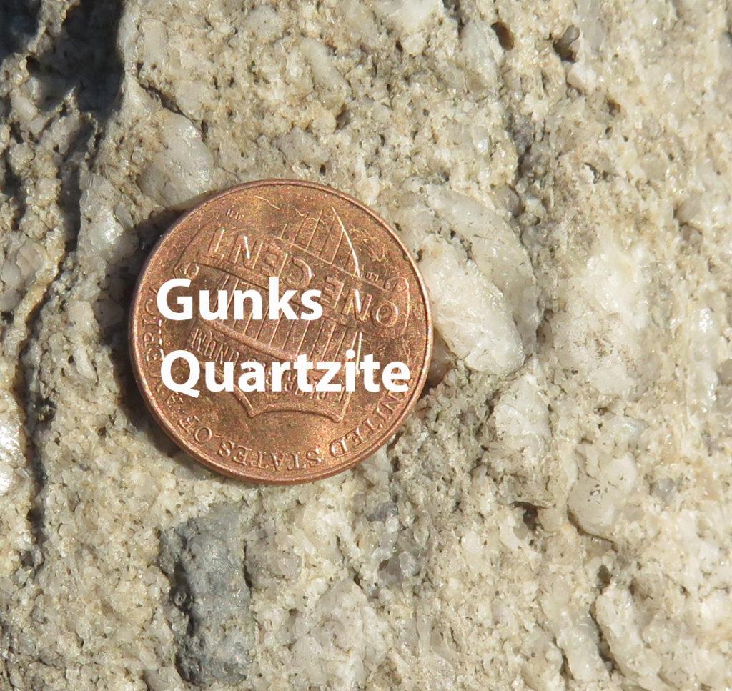 Gunks quartzite