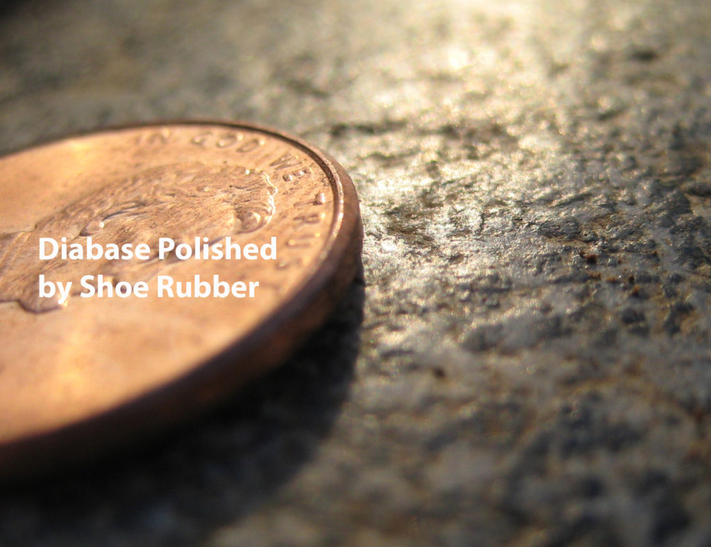Polished diabase